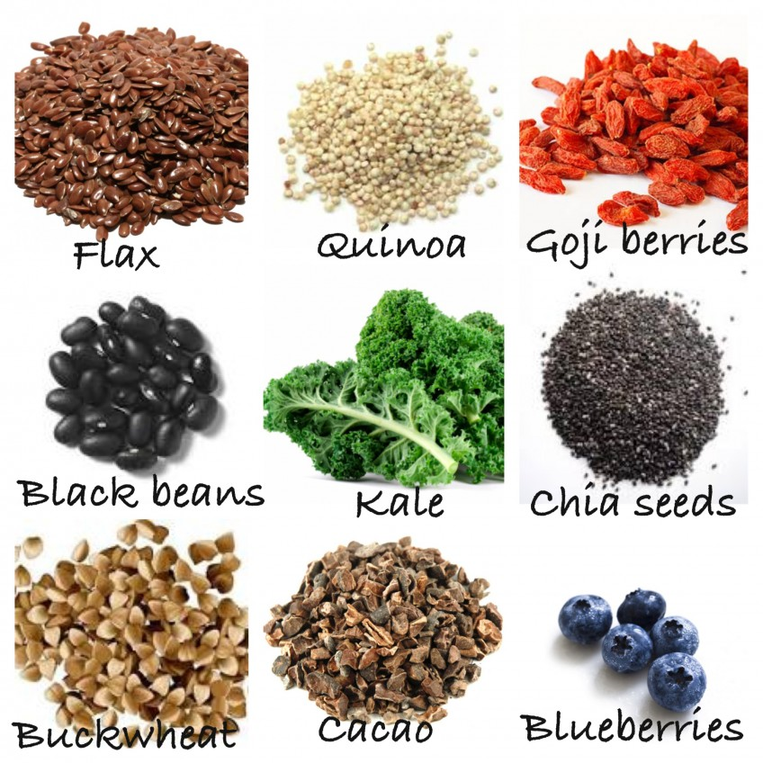 Superfoods = super healthy